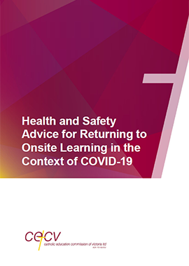 Health and Safety Advice for Returning to Onsite Learning in the Context of COVID-19
