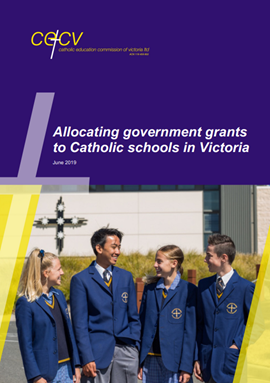 Allocating government grants to Catholic schools in Victoria