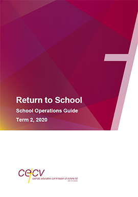 Return to School: School Operations Guide