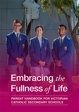 Parent Handbook for Victorian Catholic Secondary Schools